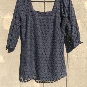 Solitaire boho lace blouse